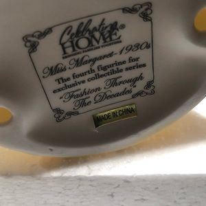 Accents - Fashion through the decade porcelain Home interior